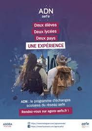 ADN : Echanges scolaires AEFE