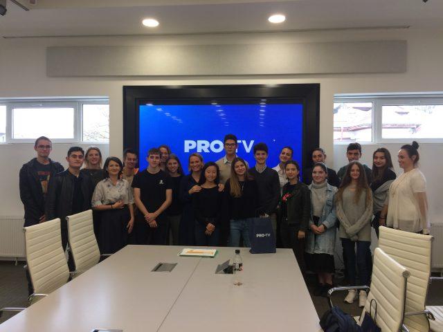 """Pro TV ouvre ses portes aux élèves de Première de la spécialité  """"Histoire-géographie, Géopolitique et Sciences Politiques"""""""