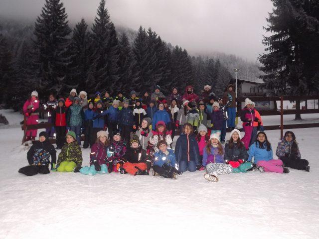 Classe de neige CE2 A et CE2 C