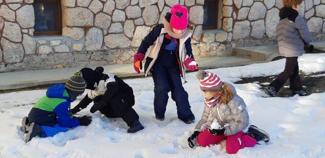 Nouvelles de la classe de neige CE2