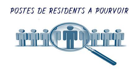 Campagne de recrutement de résidents