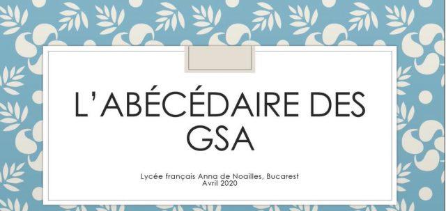 L'abécédaire des GSA