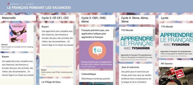 Français langue d'enseignement scolaire