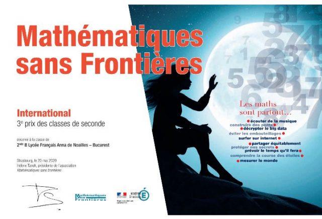 """Concours """"Maths sans Frontières"""""""