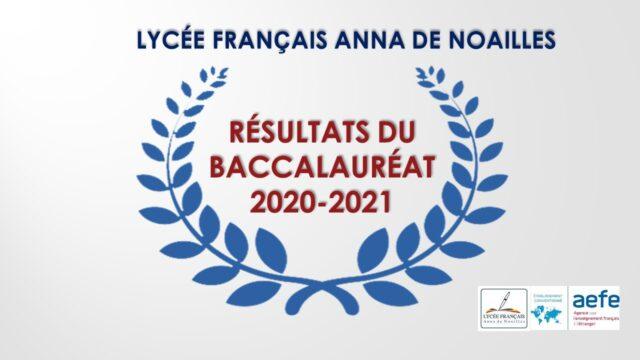 Résultats du BAC 2020-2021