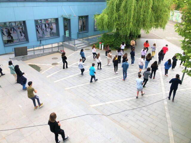 Vidéo «Jerusalema» au Lycée français Anna de Noailles