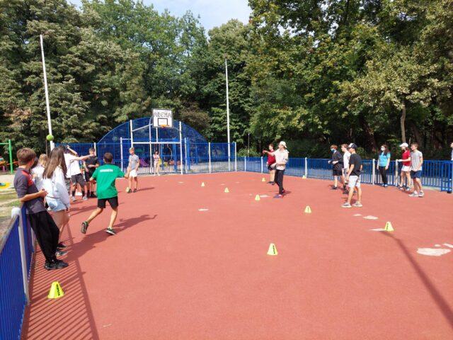 Journée d'intégration du 17 septembre au parc Herăstrău pour les classes de seconde