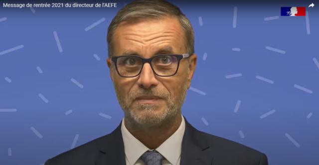 Message de rentrée 2021 du directeur de l'AEFE