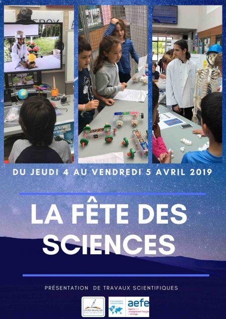 Fête des Sciences 4 & 5 avril