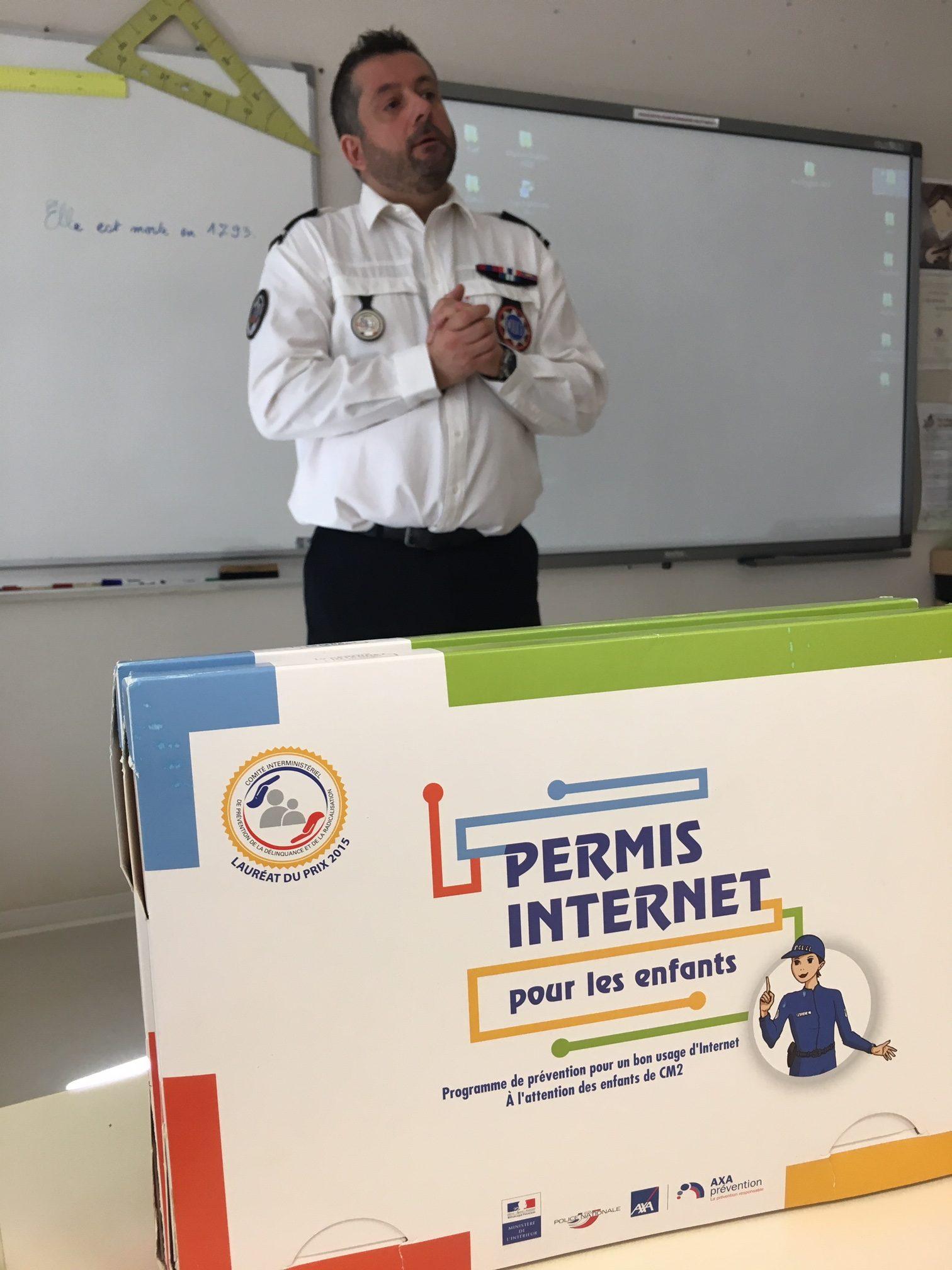Le permis Internet à l'école