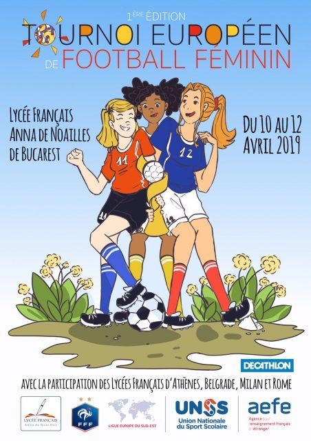 C'est parti pour le tournoi de foot féminin !